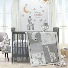 decoration moon crib bedding shoe conversion sun star nursery