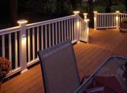 led outdoor deck lighting. flat top led post sleeve cap in white and light horizon provincial we will only use the down cast lighting on posts u0026 deck led outdoor s