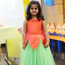 Kids Designer Pretty Flower Kids Designer Dress Ridhima Reddy Dresses