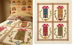 Large Patchwork Quilt A Day At The Spa Quilt Pattern Download From ... & large patchwork quilt main street in season quilt extra large patchwork  quilts . large patchwork quilt ... Adamdwight.com