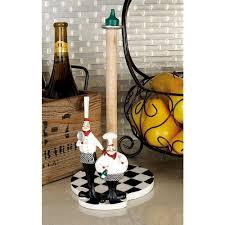 paper towel holder 6 in w x 13 in h polystone chef countertop kitchen dispenser