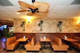 leaf ceiling fan. Palm Leaf Ceiling Fan Fans Restaurant Indoor Wall Mounted Painting .