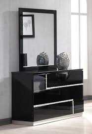 black lacquer bedroom furniture. ju0026m lucca dresser and mirror in black lacquer 17685dm bedroom furniture e