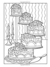 Small Picture Creative Haven Designer Desserts Coloring Book Creative Haven