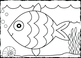 Coloring Pages Easy Coloring Pages For Kids Simple Animals Funny