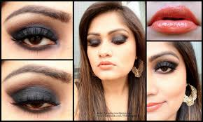 eyes dark red lips tutorial makeup the red lipstick clic