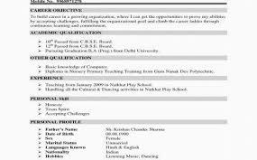 Sample Nursing Resume Artistic Examples Writing Skills Objective