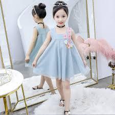 taiwan baby net yarn dress <b>2019 summer</b> new girl <b>kids children</b> ...