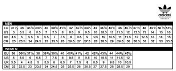 Adidas Stan Smith Size Chart