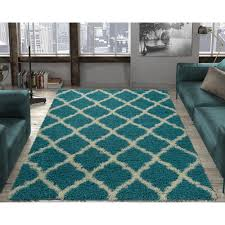 this review is from ultimate gy contemporary moroccan trellis design turquoise 5 ft x 7 ft area rug