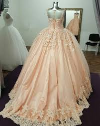 peach wedding dress. Illusion Neckline Tulle And Satin Ball Gowns Wedding Dresses Lace