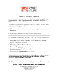 Hr Employee Review Form Template