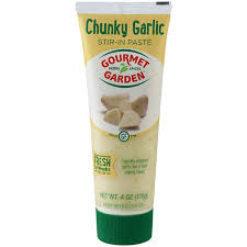 gourmet garden herbs spices organic stir in paste chunky garlic 4 oz fresh herbs spices meijer grocery pharmacy home more