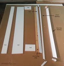 diy craftsman style door trim