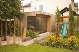 build a garden office. Climbing Frame And Garden Office Contemporary Shed Build A