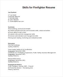 Firefighter Resume Templates Stunning 48 Firefighter Resume Templates PDF DOC Free Premium Templates