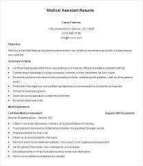 Career Builder Resume Templates Simple Resume Templates For Veterans Health Care Veteran On Resumes And