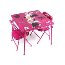 8 photos of the minnie mouse drawing table