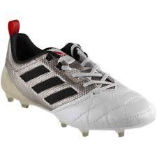 com adidas ace 17 1 fg womens soccer cleats 7 5 platinum metallic black red shoes