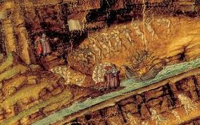 Botticelli Chart Of Hell High Resolution Pin On Art