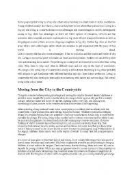 living in a city essay there are advantages and disadvantages of  living in the city essay gxart orgadvantages city life essay power comes responsibility essaylife is