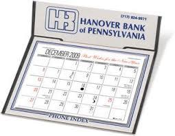 Desk Calendar W 3 Month View Graystone
