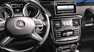 G-Class Interior Features -- Mercedes-Benz SUV - YouTube