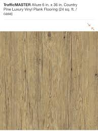 trafficmaster allure 6 in x 36 in country pine luxury vinyl plank flooring for in glendale az offerup