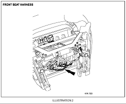 i have an x type drivers power seat will not run in graphic