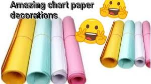 How To Decorate A Chart Paper Border Chart Paper Decorations Project Chart Paper Decorations