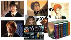 harry potter characters book vs