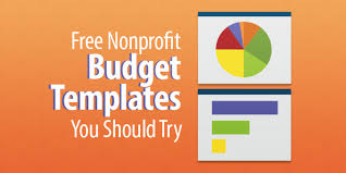 Budget Layout Example 13 Free Nonprofit Budget Templates You Should Try