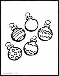 Vijf Kerstballen Kiddicolour