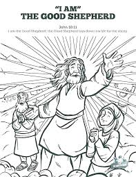Shepherd Coloring Page Lord Is My Shepherd Coloring Page The Good