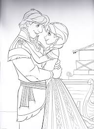 Disney Frozen Coloring Sheets Walt Disney