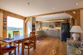 our best small oak framed houses