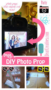diy photo props these are back drops and photo booth props that anyone can