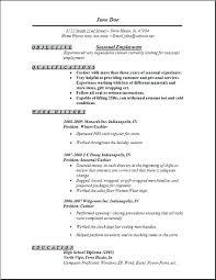 Example Of Job Resume – Eukutak
