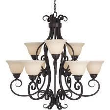 maxim lighting manor 9 light oil rubbed bronze chandelier