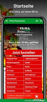 Sie können pizza viel abwechslungsreicher belegen, als sie vielleicht denken: Prima Pizzaservice Glauchau On The App Store