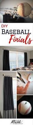 Baseball Bedroom Decor 17 Best Ideas About Baseball Curtains On Pinterest Boys Baseball