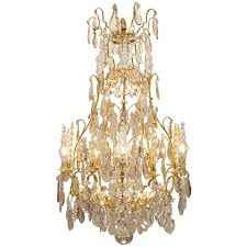 french 18th century louis xv period ormolu and crystal chandelier for