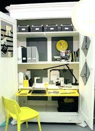 home office desk armoire. Office Desk Armoire Cabinet Medium Size Of Home White Computer Executive