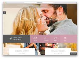 Wedding Wordpress Theme Wedding Website Templates Wordpress Phatcouch Com