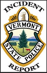 Vermont State Police Incident Log The Chester Telegraph