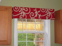 red thru grace cornice board window treatments