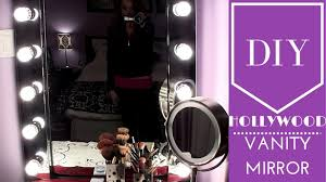 diy hollywood vanity mirror with lights. diy: hollywood vanity mirror diy hollywood vanity mirror with lights t