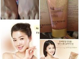 no makeup face blemish balm spf30 pa whitening 50 ml ขนาด 50 ml see why welcos