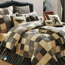quilt comforter sets king elegant black country primitive patchwork quilt set for twin queen
