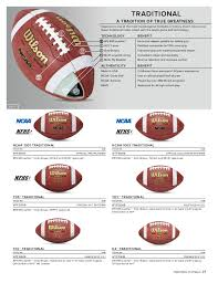 College Football Size Chart What Size Football Is Appropriate For 8 And Under